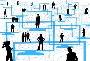 мрежа от хора
